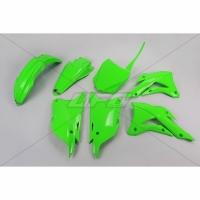 Plastiki Kawasaki KX 85 2014-2021 komplet neonowy zielony UFO