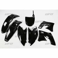 Plastiki Kawasaki KXF 250 2009-2012 komplet czarny UFO