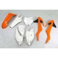 Plastiki KTM EXC 300 250 125 EXCF 500 450 250 SXF 450 350 250 SX 125 150 komplet UFO
