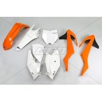 Plastiki KTM SX 125 150 250 SXF 250 350 450 EXC 250 300 350 450 500 EXCF 250 komplet UFO