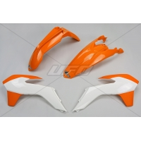 Plastiki KTM EXC 125 200 250 300 350 450 EXCF 250 komplet UFO