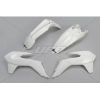 Plastiki KTM EXC 125 200 250 300 350 450 EXCF 250 komplet biały UFO