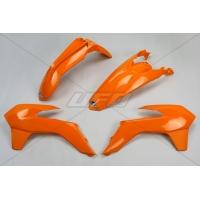 Plastiki KTM EXC 125 200 250 300 350 450 EXCF 250 komplet pomarańczowy UFO