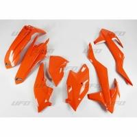 Plastiki KTM EXC 125 250 300 350 450 500 EXCF 250 komplet pomarańczowy UFO