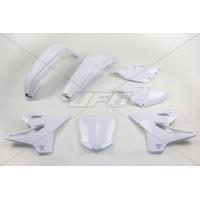 Plastiki Yamaha YZ 125 2014-2021 YZ 250 2015-2019 komplet biały UFO