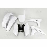 Plastiki Yamaha YZF 250 2011-2013 komplet biały UFO