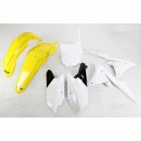 Plastiki Yamaha YZF 250 2014-2018 YZF 450 2014-2017 komplet żółty UFO