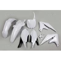 Plastiki Yamaha YZF 450 450 X YZF 250 250 X komplet biały UFO