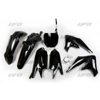 Plastiki Yamaha YZF 450 450 X YZF 250 250 X komplet czarny UFO