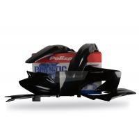 Plastiki Honda CR 125 R 2002-2007 CR 250 R 2004-2007 komplet czarny POLISPORT