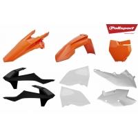 Plastiki KTM EXC 500 450 350 300 250 125 EXCF 250 komplet POLISPORT