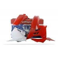 Plastiki GAS GAS EC 125 200 250 300 FSE 450 komplet czerwony POLISPORT