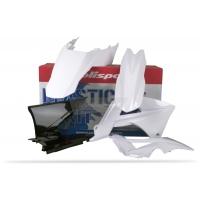 Plastiki GAS GAS EC 125 200 250 300 450 2011 komplet biały POLISPORT