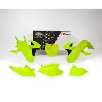 Plastiki KTM SXF 450 350 250 SX 250 150 125 komplet neonowy żółty RACETECH