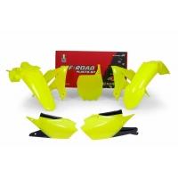 Plastiki Yamaha YZF 450 2019-2021 YZF 250 2018-2021 komplet neonowy żółty RACETECH