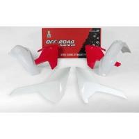 Plastiki Husqvarna FE 501 450 350 250 TE 300 250 TX 125 2017-2019 komplet biały RACETECH